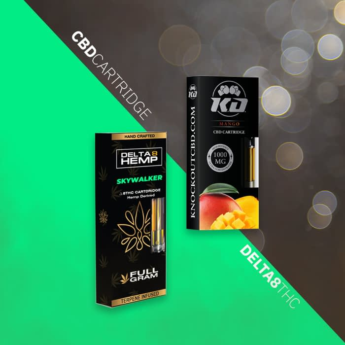 Delta 8 THC cartridge vs CBD Cartridge