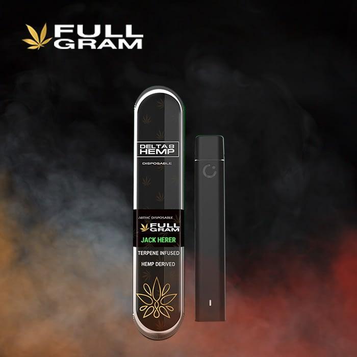 Jack Herer 1g - Delta 8 THC Disposable Vape Pen