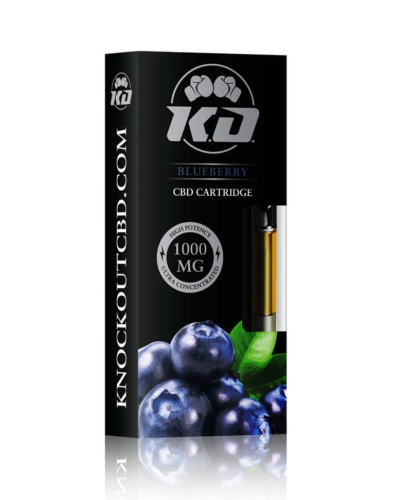blueberry CBD vape Cartridge