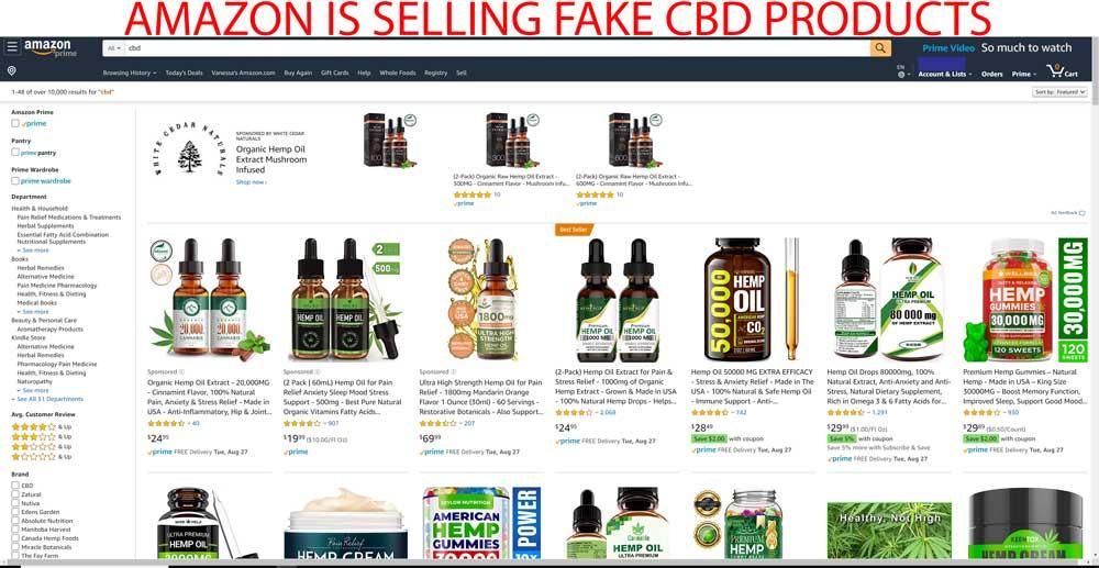 amazons snake oil cbd