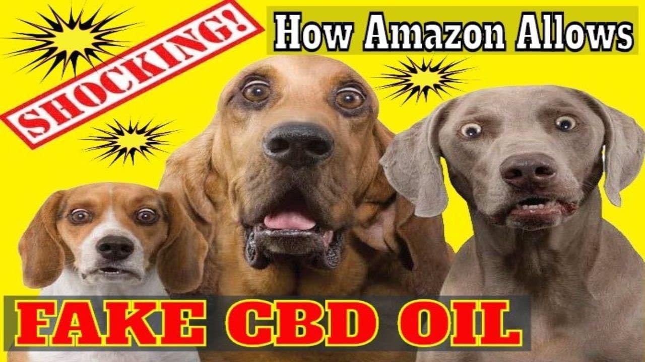Amazon Allows Fake CBD Oil