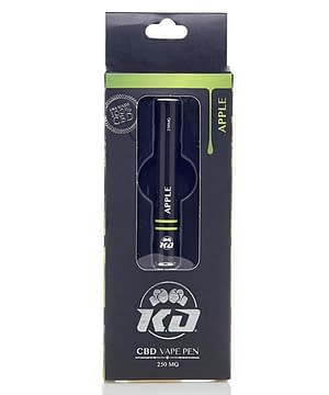 Knockout CBD Apple CBD Vape Starter kit