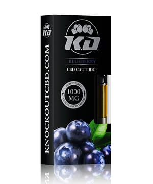 blueberry CBD vape Cartridge