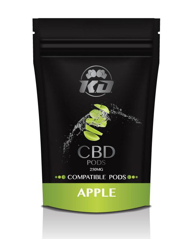 250 mg Compatible APPLE cbd pod