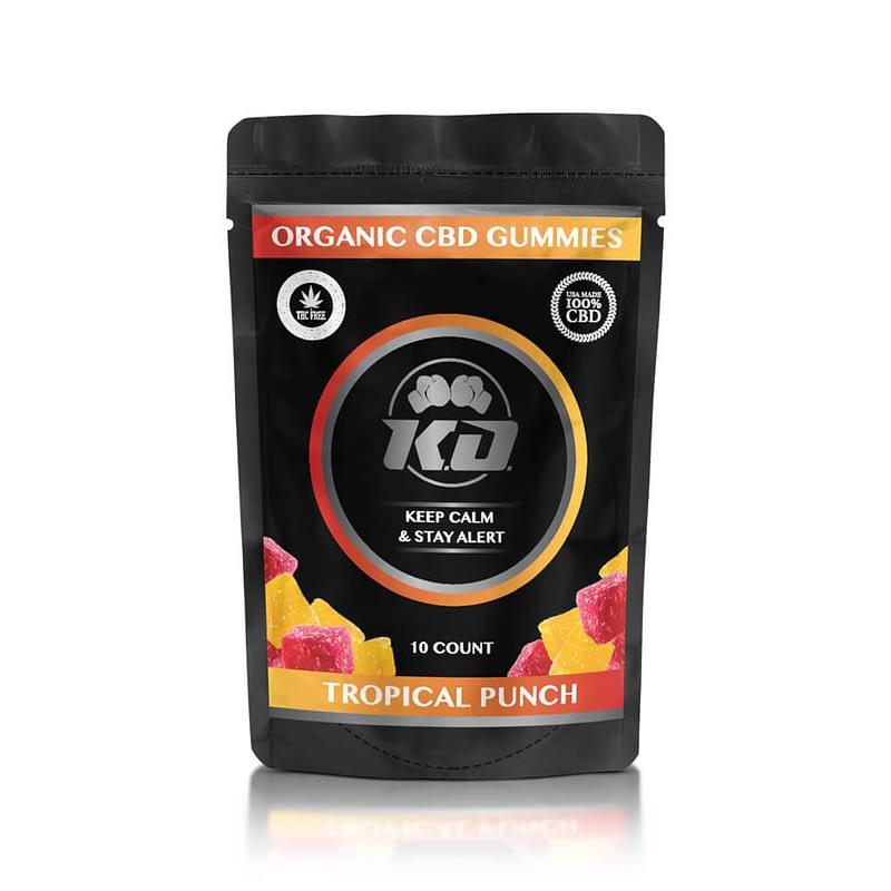 100MG Tropical CBD Gummies